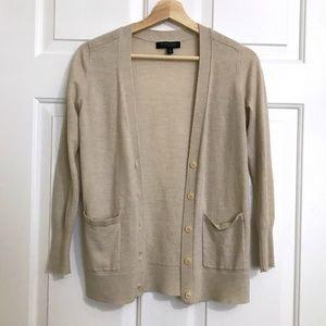 Banana Republic Extra Fine Merino Cardigan Sweater